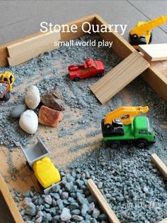 How to Create a Stone Quarry Small World... -  How to Create a Stone Quarry Small World | Little Worlds Big Adventures #smallworld #construction # - #Birds #birdslyrics #birdsofprey #create #Quarry #Small #Stone #World