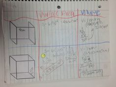 volume and surface area at the same time