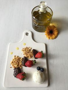 """Tè verde e pasticcini: { Contest } - Crumble di frolla all'olio d'oliva con crema di ricotta al cioccolato di Modica aromatizzato ai fiori d'arancio per il contest """"Chef per un giorno"""" di Olio Clara"""