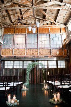 Industrial rustic babys breath wedding decor ideas