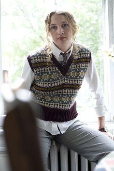 Ravelry: What His Is Hers Fair Isle Vest pattern by Joanne Yordanou