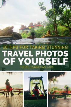 How to Take Stunning Travel Photos-- legit one of my biggest worries is not having any nice pictures of myself from my trip