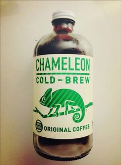 Chameleon Cold-Brew Coffee from Austin, Texas