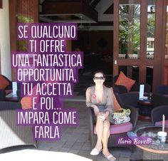 Opportunità … cosa vuol dire – Ilaria Rovelli