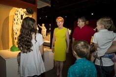 Penny and Jeff Vinik welcome guests to The Art of the Brick