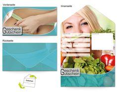 Motiv Gesundes essen - Gutscheinvorlagen