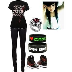 """ZOMBIES!!!"" by bvb3666 on Polyvore"