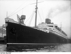 """SS """"Europa"""" sailed from New York to Southampton arriving 17/10/1932. On board was Dorothy Dunn b1909 her father William James Dunn b1874 and mother Edith Dunn (nee Downing) b1878. All 3 were in transit to Australia."""