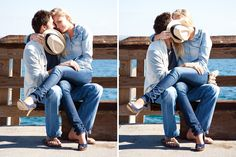 Such a cute beach photo shoot but love these ones especially