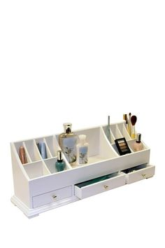 Large Personal Organizer - White by Organize: Hangers, Shoe Racks and More on @HauteLook