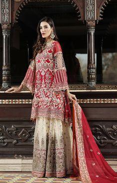 Vogue Clothing Studio - All you add is original Pakistani Bridal Wear, Pakistani Dresses, Asian Party Wear, Clothing Studio, Pakistani Street Style, Online Clothing Stores, Asian Style, Fashion Dresses, Chiffon