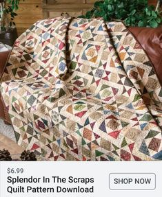 Quilt Pattern ~ INHERITANCE ~ by The Quilt Factory