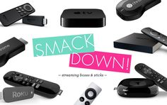 Smackdown! Amazon Fire TV vs. Roku vs. Apple TV vs. Chromecast