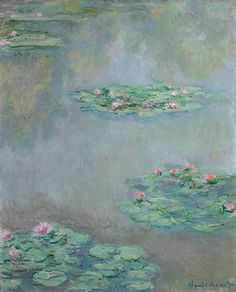 Monet's Nymphéas belongs to the artist's most iconic series, the Nymphéas that dominated the later years of the great Impressionists output. Now widely held as Monet's crowning achievement, the Nymphéas depict the artist's garden at Giverny just outside of Paris.  | Sotheby's