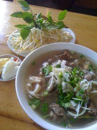 Pho at Pho Tam, Footscray. The best Pho in the country.