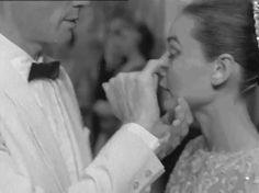 Audrey Hepburn and husband Mel Ferrer. So cute!