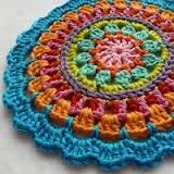 crochet mandalas patterns - Google Search