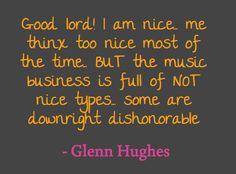 ~ Glenn Hughes @glenn_hughes ~ January 13th, 2012