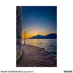Beautiful sunset on to quiet February day AT Lake Garda, Italy. Size: x Gender: unisex. Material: Value Poster Paper (Matte). Verona Italy, Puglia Italy, Venice Italy, Lake Garda Italy, Days In February, Palermo Sicily, Lake Geneva, Italy Vacation, Places To Travel