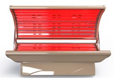 Therapy Tanning Bed, Sunco Harmony with 20 Red Light Therapy Lamps for Collagen Renewal