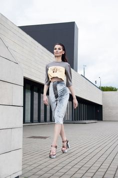 #didikaitee #women #fashion  #strong #collection #2015 #fierce #make #up #silver #gold#photoshoot #details #ss2015 #spring #summer #metal #wet #red #hair  #skirt #velvet #grey  #model #etno #pattern #cutting #inovation #lazer #sleeves #architecture #futurism #walking #walk #shoes #high #heels #city