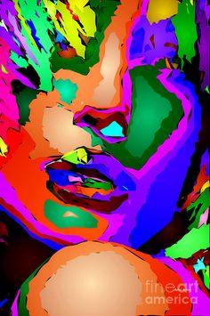 Female Tribute Digital Art by Rafael Salazar