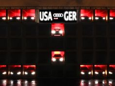 How Audi Created the World's Biggest World Cup Scoreboard Guerilla Marketing, Marketing And Advertising, Nascar Racing, World's Biggest, Stunts, World Cup, Audi A8, Shipping Containers, Create