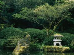 Japanese Garden---reach for peace and serenity everywhere, anywhere, to finish your path. A special area for communing with your Maker and he nature  created for our enjoyment.