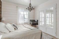 White timber house light decor bedroom 💎