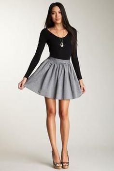 obsessed with this skirt.