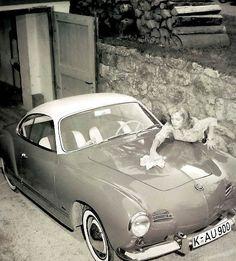 VW typ 14 Karmann GHia.