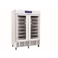 Safecold Inside Body AISI 304 2B Stainless Steel                             Outside Body White PVC Coated Galvanize                     Inside Depth: 46,5 Cm                                            35 / 40 Kg/m³ Ecology Friendly HCFC    Polyuretahe Insulation                                        0,1ºC Temperature Setting and Reading Accuracy     Temeperature, Power Failure and Door Alarm            Stainless Steel Telescopic Blood Bag.