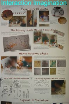 """Documentation on making marks - from Interaction Imagination ("""",)"""