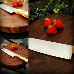 End grain cutting board by Atelier Unik-Art