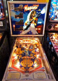 Check out these 1978 Stern Ted Nugent Pinball Machines for sale. The killer backglass shows singer Ted Nugent taken from the cover of his album Weekend Warriors. Mortal Kombat 2, Pinball Wizard, Penny Arcade, Retro Images, Arcade Machine, Classic Monsters, Arcade Games, Vintage Toys, Old School