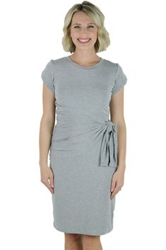 The Latched Mama Side Knot Nursing Dress - Last Chance