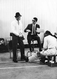 Frank Sinatra and Dean Martin.