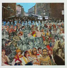 Petticoat lane- One Hundred Women Sir Peter Blake 2012