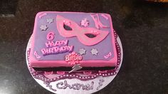 Barbie Princess Power Cake, was made for my little daughter Chanel that turned 6years old at the end of April.