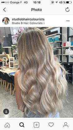 20 Cute and Easy Blonde Balayage Hairstyles – My hair and beauty Blonde Hair Looks, Beautiful Hair Color, Hair Images, Hair Colorist, Balayage Hair, Cool Blonde Balayage, Dyed Hair, Cool Hairstyles, Hair Beauty