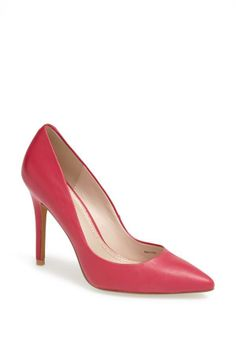 Add a pink pump to your wardrobe!