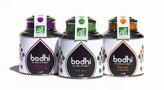 BODHI/ identité, packaging by Geneviève Laplante-Sauvageau, via Behance