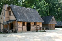 Also part of the compound was the guard house. Jamestown guardhouse - Google Search