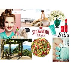 """Italian Fresh Summer Style"" by beforetheclockstrikesmidnight.blogspot.com on Polyvore"