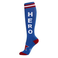 Hero Socks from On After Creations for $10.00