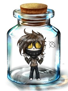 Here we go, my second bottled pasta! I drew Ticci Toby this time. Ticci Toby belongs to Art belongs to me Original meme is from Pixiv. Ticci Toby in a Bottle Scary Creepypasta, Creepypasta Proxy, Jeff The Killer, Fnaf, Creepypastas Ticci Toby, Creepy Pasta Family, Eyeless Jack, Laughing Jack, Scary Stories