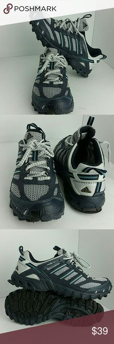 ADIDAS KANADIA TR 2 II WOMEN SHOES VERY CLEAN INSIDE-OUT   SKE # BJ2 ADIDAS Shoes Athletic Shoes