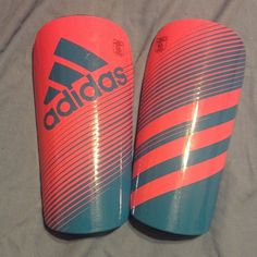 Girl's Soccer Shin Guards + Sleeves Super protective & cute! Adidas Other