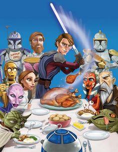 Happy Thanksgiving!   Star Wars