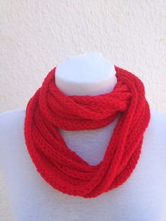 Cute red scarf